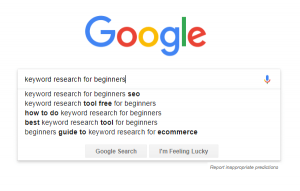Keyword Research: The Absolute Beginners How-to Guide