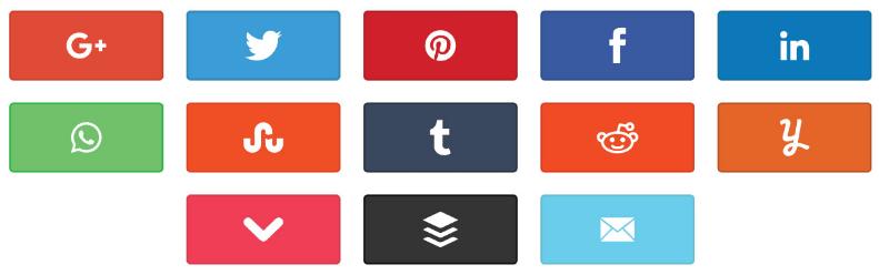 Social Warfare Sharing Icons