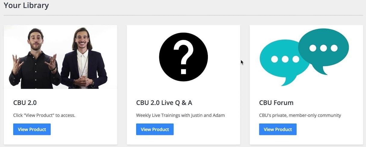 ClickBank University 2.0 Library