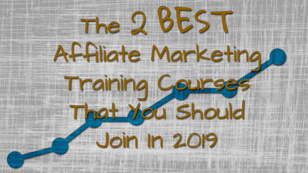 The 2 Best Affiliate Marketing Training Courses That You Should Join In 2019