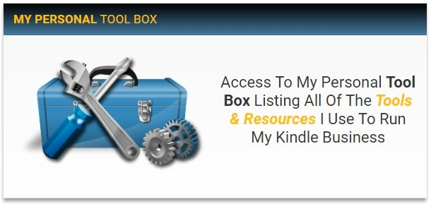 Kindle Money Mastery 2.0 Stephans Toolbox
