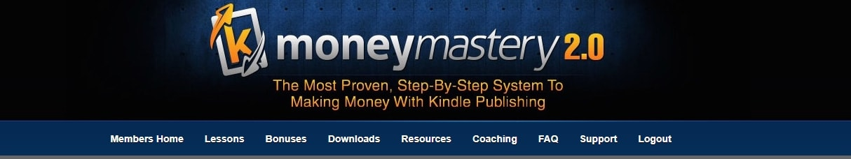Kindle Money Mastery Main Dashboard