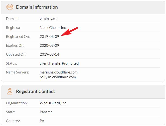 Viral Pay Domain Name Lie