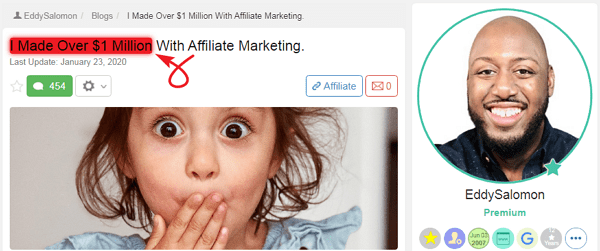 Wealthy Affiliate Success Story 7