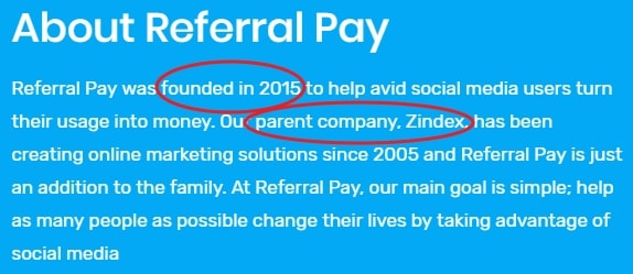 About Referral Pay