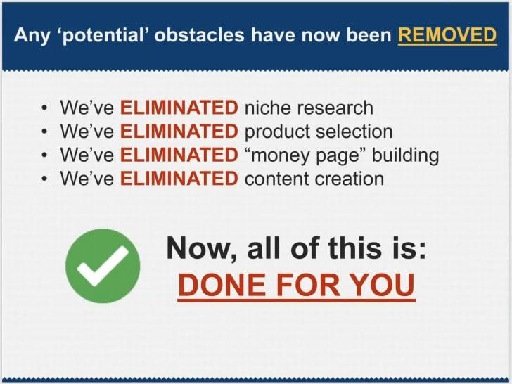 Online Marketing Classroom Unrealistic Claim #1