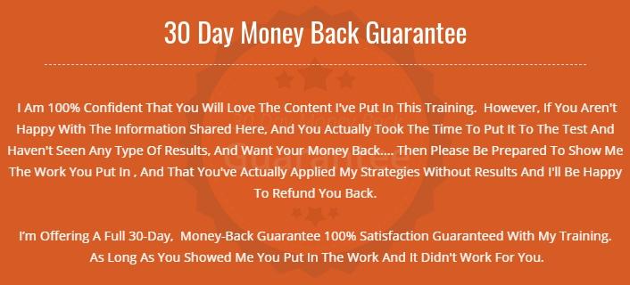 Passion Blog Pro Money-Back Guarantee