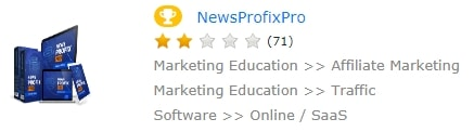 News Profix Pro 2-star Rating