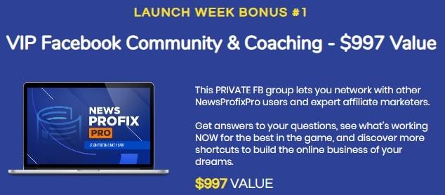 News Profix Pro Bonus 1