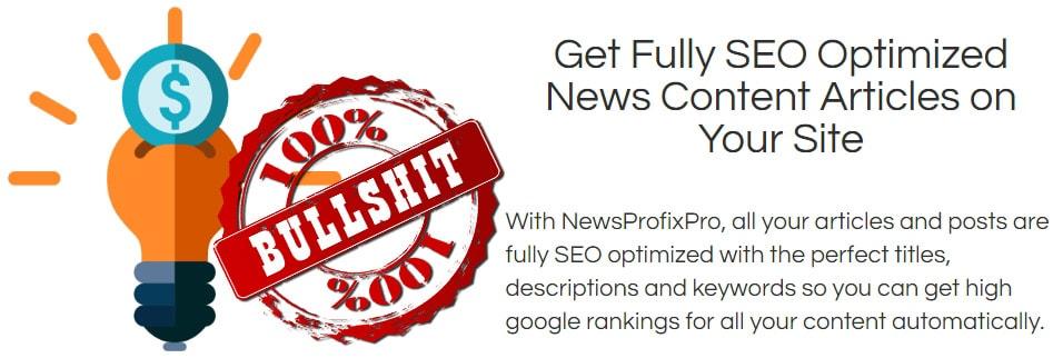 News Profix Pro SEO Lie