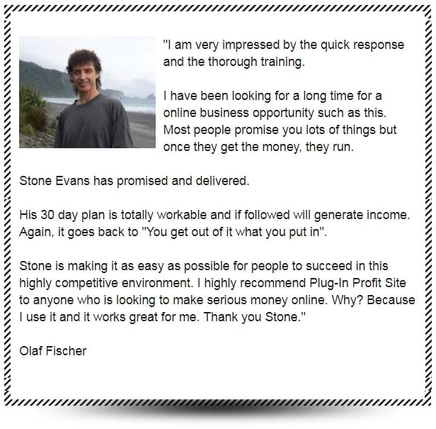 Plug In Profit Site Testimonial 7
