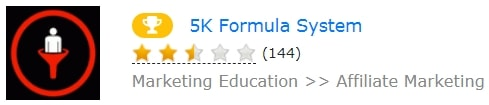 5k Formula System Low Rating