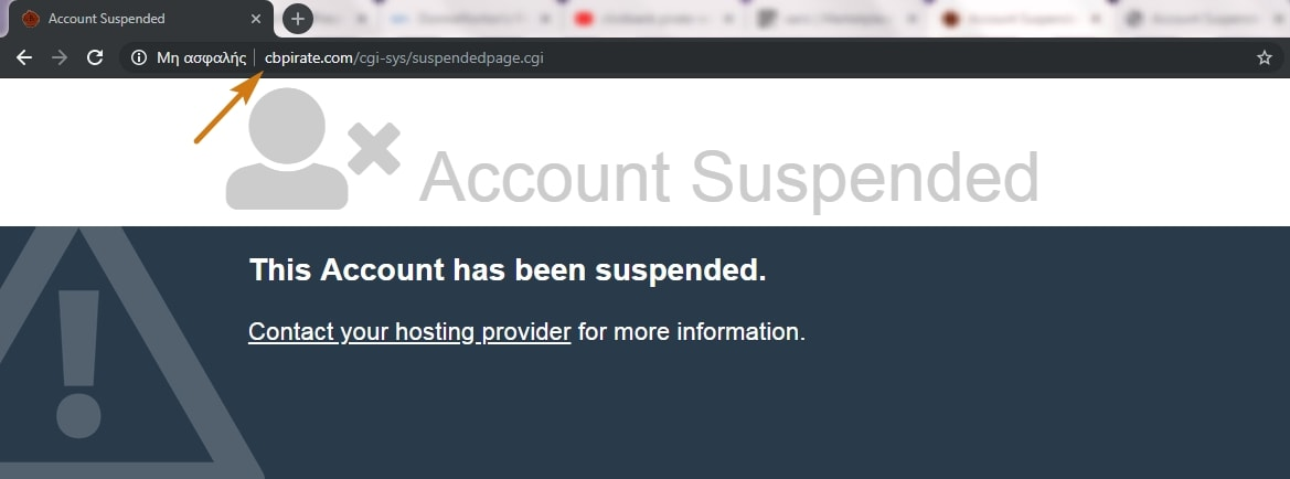 Clickbank Pirate Account Suspended