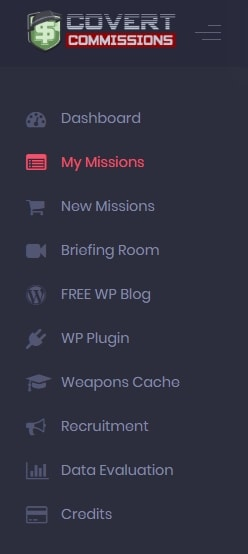 Covert Commissions Dashboard