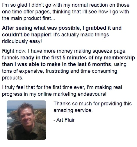 Covert Commissions Testimonial