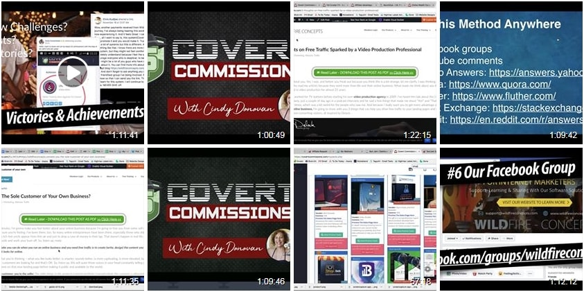 Covert Commissions Webinar Archive