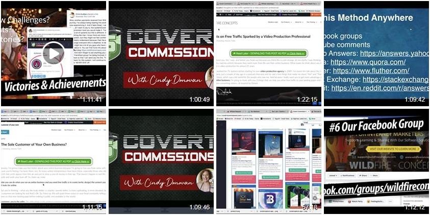 Covert Commissions Webinar Archive