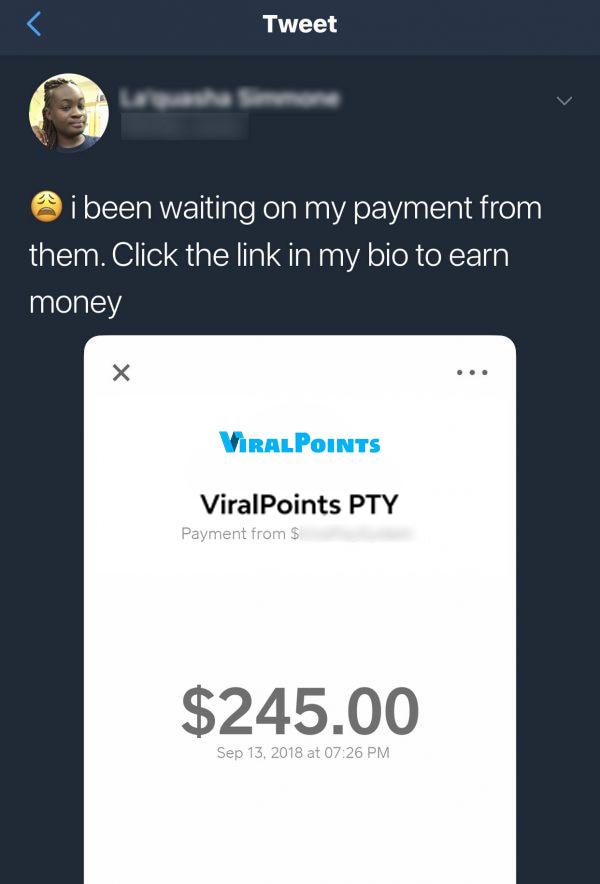 Viral Points Fake Payment Proof 5