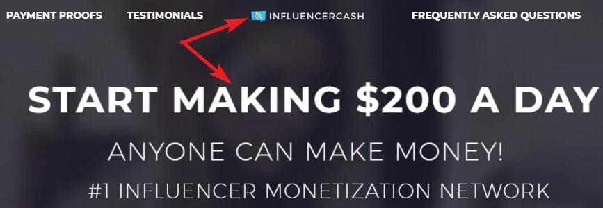 InfluencerCash.co Scam