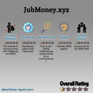 Is JubMoney.xyz Legit? WARNING It's NOT… [Review]
