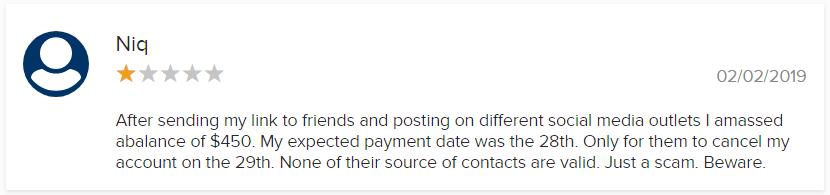 Kids Earn Money BBB Scam Complaint 3