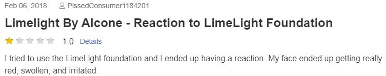 LimeLight PissedConsumer Complaint 2