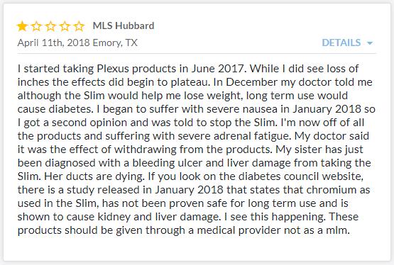 Plexus Worldwide BBB Complaint 4