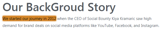 SocialBounty.co Fake Claim 1