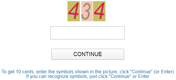 DpyMoney.xyz Captcha Field