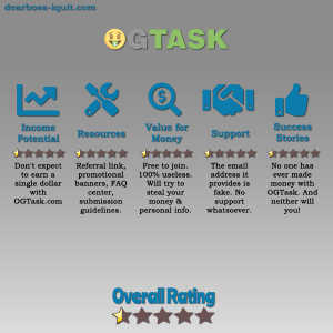 OGTask.com Review: Warning OGTask Is a SCAM [10 Signs]