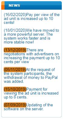 PdaMoney.xyz Fake News Section