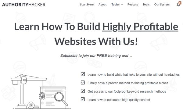 Authority Hacker Website