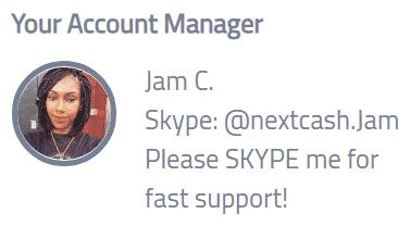 NextCash.co Fake Account Manager
