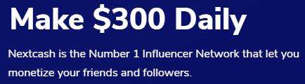 NextCash.co Make $300 Daily