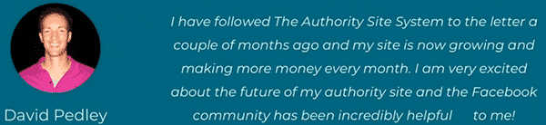 The Authority Site System Testimonial 2