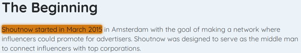 ShoutNow.co Lie 1