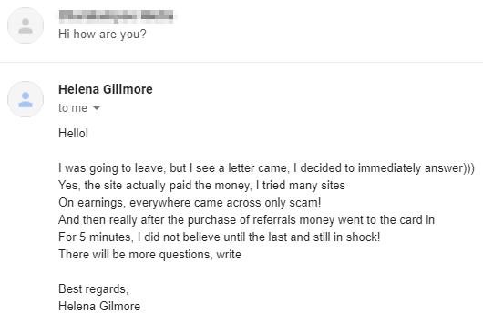 Helena Gillmore Automated Response 1