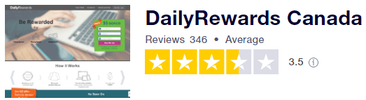 Daily Rewards Trustpilot Rating