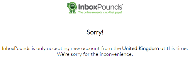 Inbox Pounds Available Only In The UK