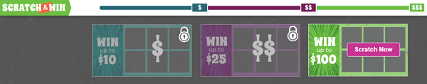 InboxDollars Scratch And Win Cards