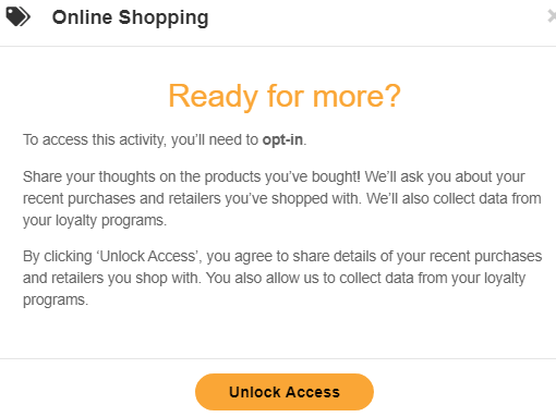 MyOpinions Online Shopping