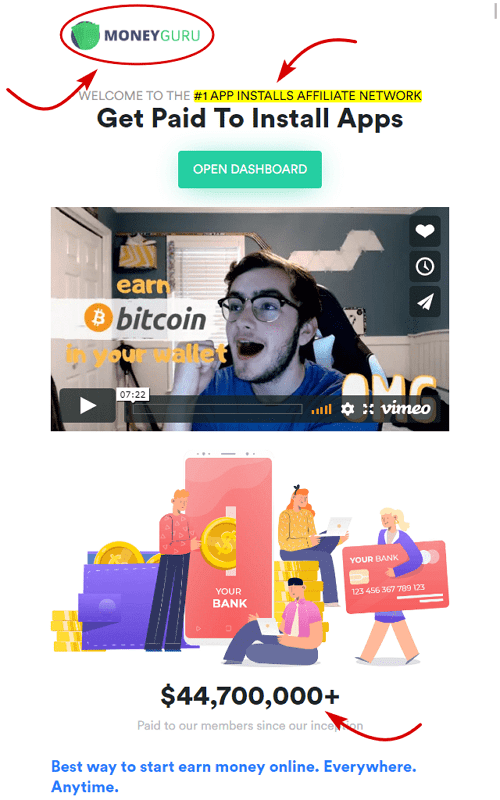 MoneyGuru.co Homepage