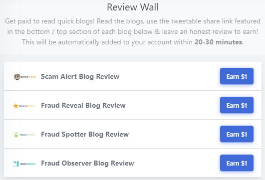 MoneyGuru.co Review Wall