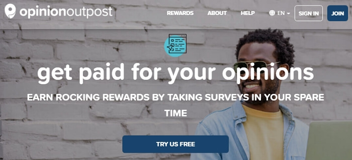 Opinion Outpost Homepage