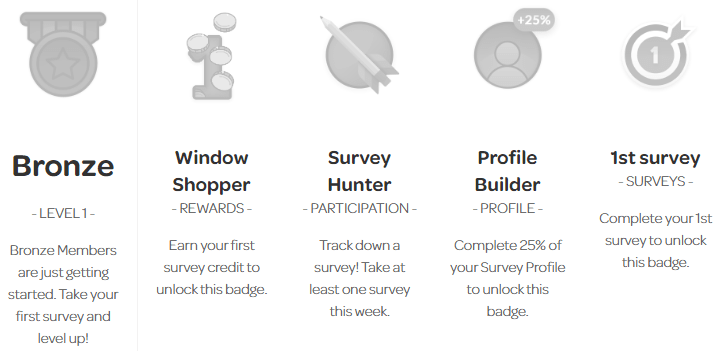 Opinion Outpost Silver Badge Requirements
