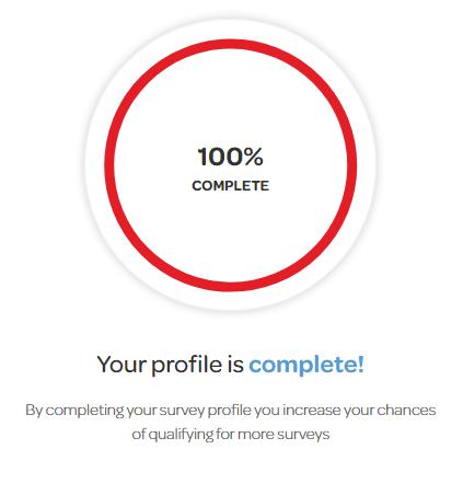 OpinionWorld 100% Complete Account