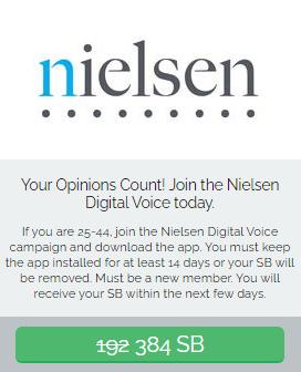Swagbucks Join Nielsen Digital Voice