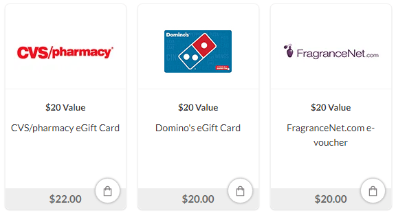 ValuedOpinions Gift Cards