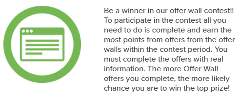 PrizeRebel Offer Wall Contest