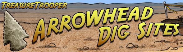 Treasure Trooper Arrowhead Dig Sites